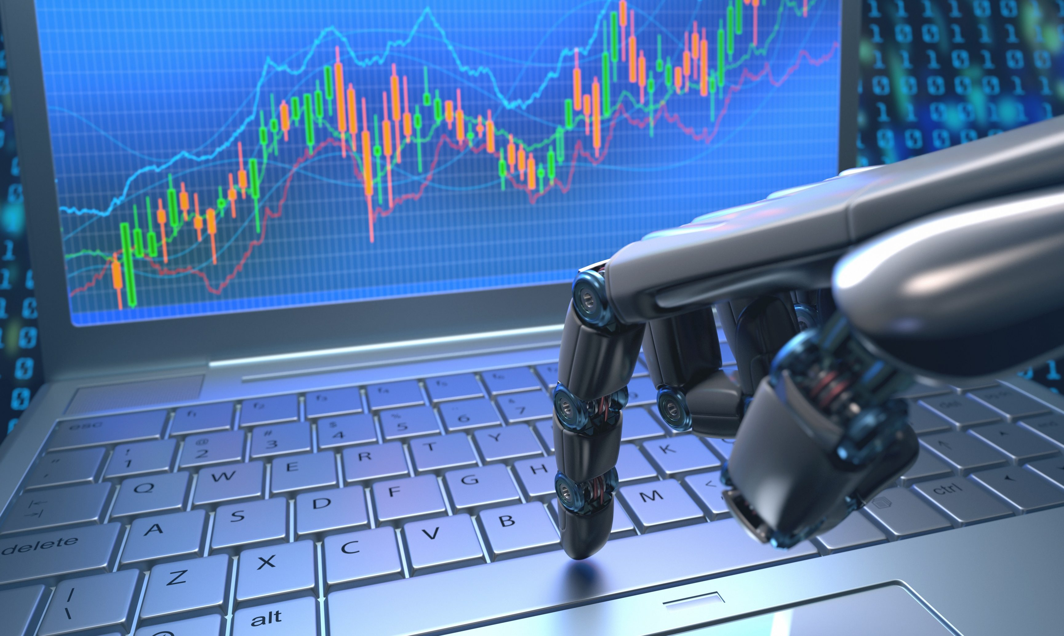 machine learning investment trend
